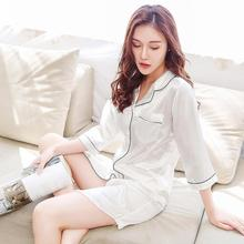 Nightdress Women Sleepwear Home Women Female Sleepwear Sleep Lounge Sexy fashion homewear Satin Seve