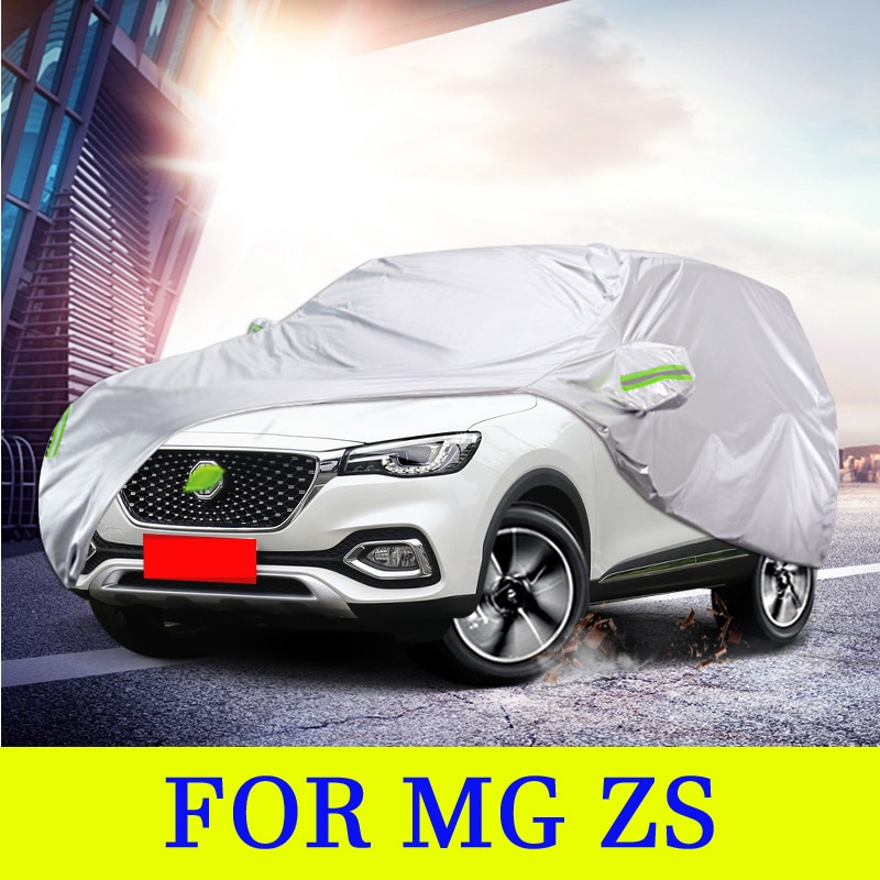 Full Car Covers Outdoor Sun UV Protection Dust Rain Snow Oxford cloth Protective for MG ZS 2017-2020 Accessories