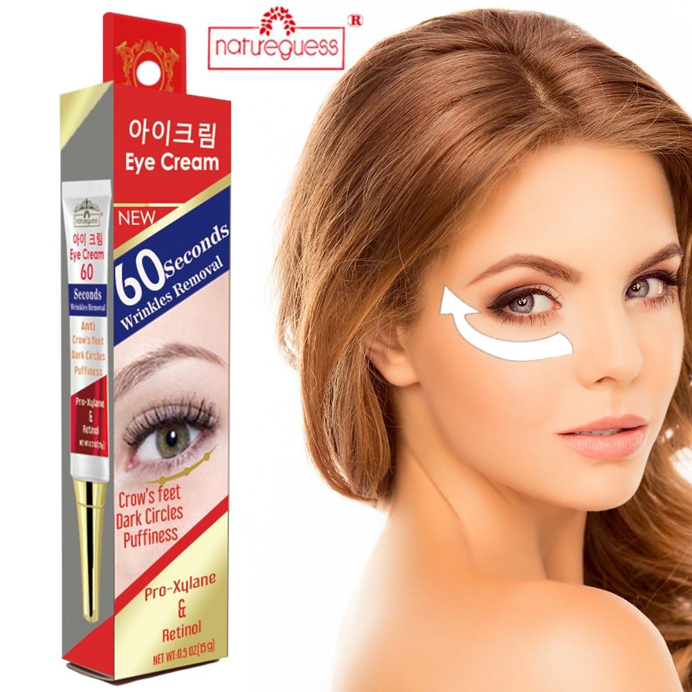 Instant Eye Cream Retinol Firming Anti Puffiness Aging Wrinkles Remove Dark Circles Moisturizing Ski