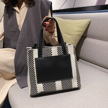 Sac femme grande capacité sac fourre-tout mode sac à bandoulière collège étudiant classe sac Shopping sac à main