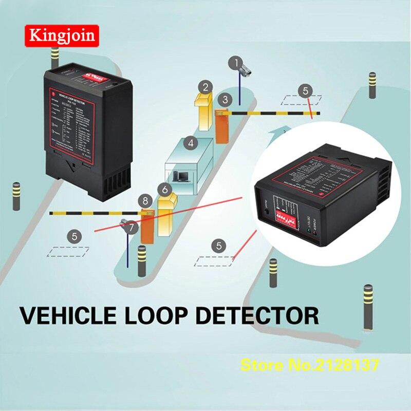 Detector de bucle KINGJOIN para detección de coches con sensor de bucle de 50M 0,75mm, cable de bobina para sistema de estacionamiento