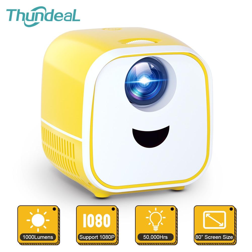 Thundeal-miniproyector PK YG300 para cine en casa para niños, 1080P, vídeo Full...