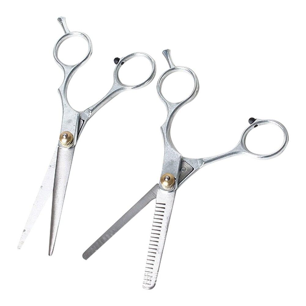 Ножницы Парикмахерские из нержавеющей стали для стрижки и филировки, профессиональные инструменты для ухода за волосами, 1 шт.