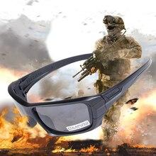 4 lens Polarized Sunglasses UV protection Military  Glasses TR90 Army Google Bullet-proof Eyewear vo