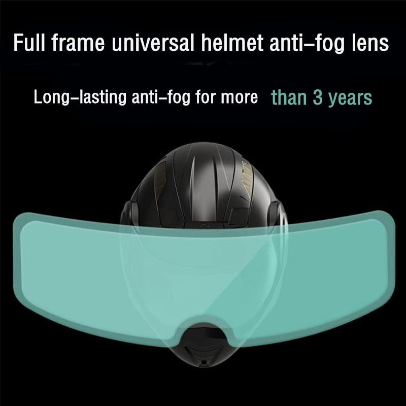 Klar Pinlock Anti-nebel patch Motorrad Volle Gesicht Generisches für K3 K4 AX8 LS2 HJC Marushin Helme Objektiv Anti-fog visier