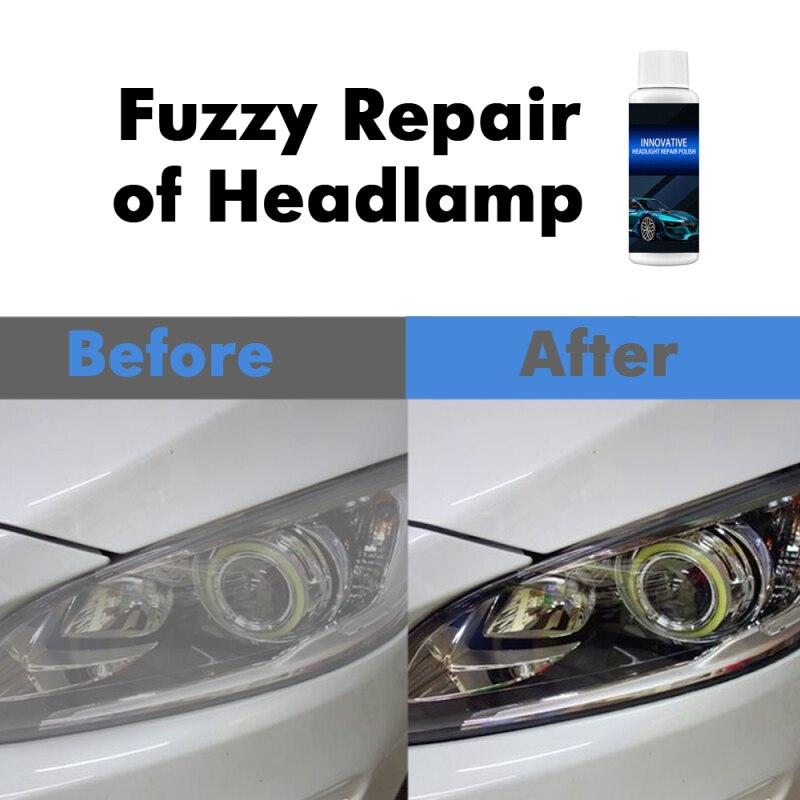 30/50ml acessórios do carro mais limpo polishin farol polisher lavagem de carro acessórios do carro farol reparação revestimento tsml1
