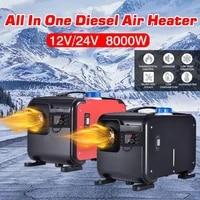 12v 24v 8kw air heater lcd monitor diesel car heater for vehicle websato eberspacher heating fan car parking heater diesel
