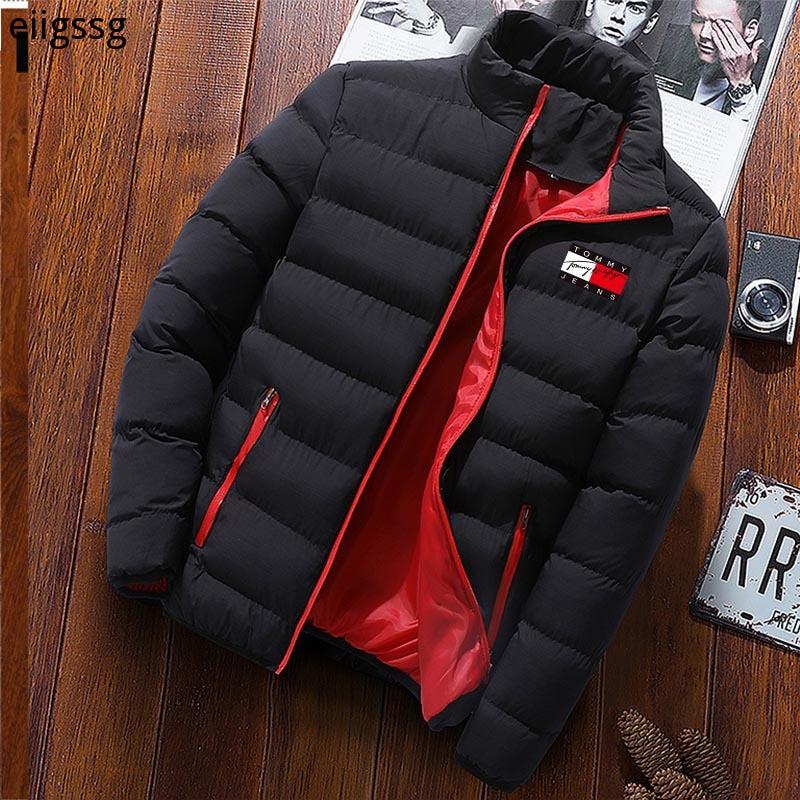 High Quality New Autumn and Winter Waterproof and Windproof Jacket Men's Warm and Velvet Casual Zipper Slim Men's Jacket Jacket