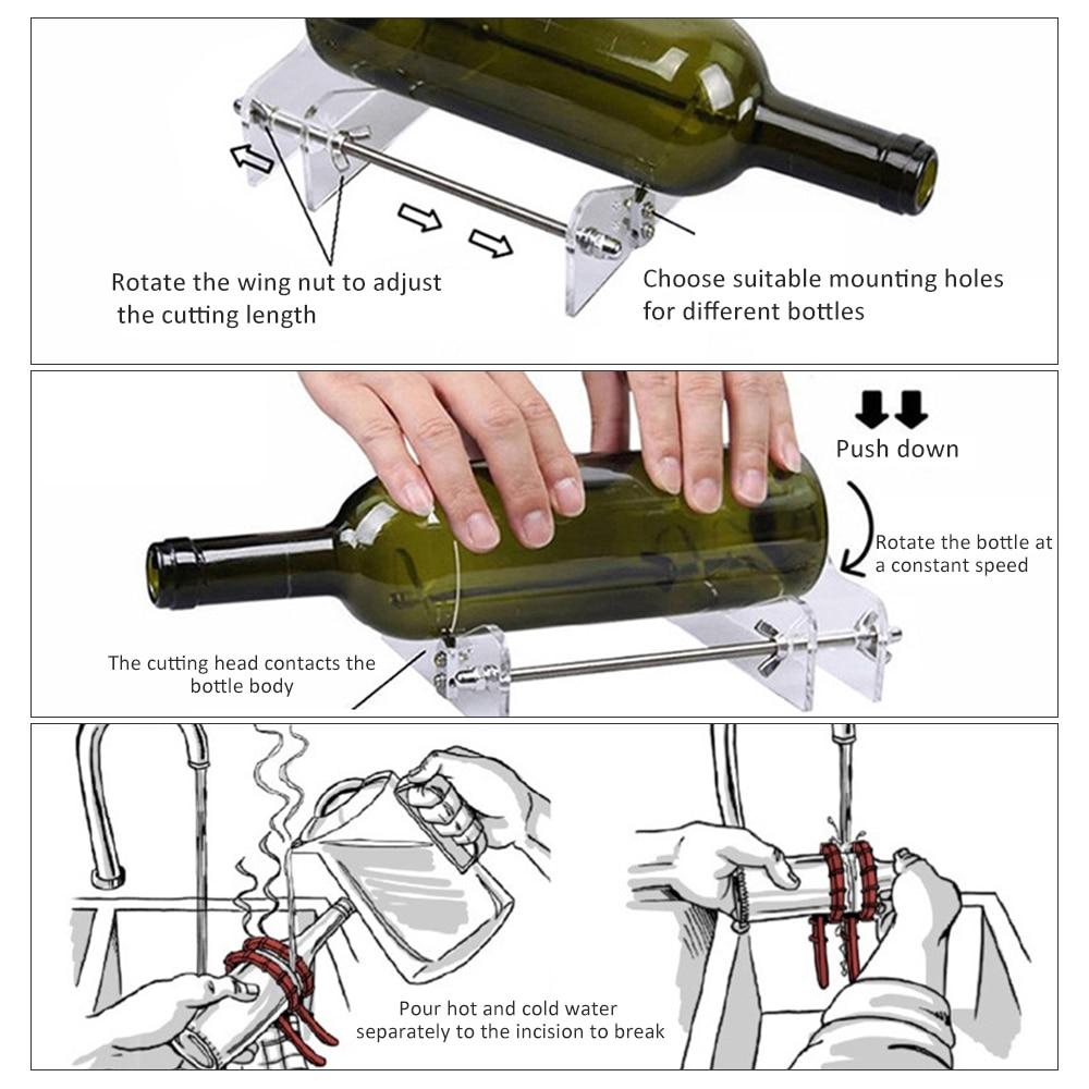 Professionale per bottiglie di birra taglio tagliabottiglie in vetro - Strumenti di costruzione - Fotografia 6
