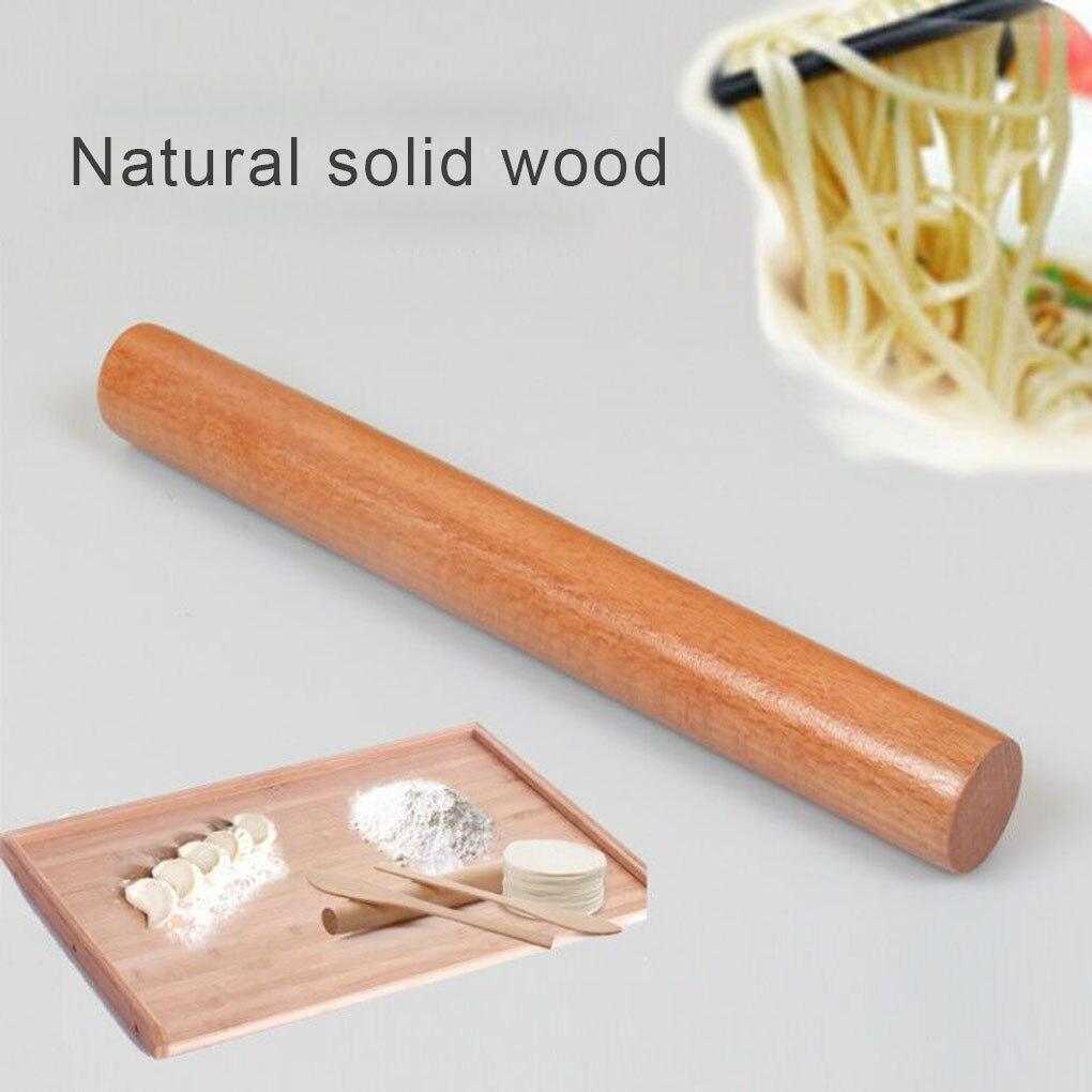 Rodillo de madera para amasar, rodillo de madera para hornear, accesorios de cocina, herramientas de cocina
