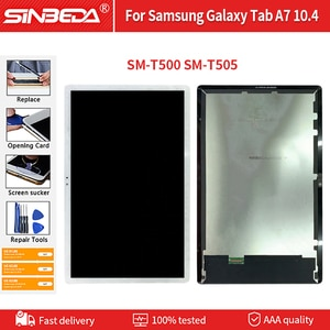 TabA7 T500 T505 Tablet LCD Display Touch Screen Digitizer Assembly LCDs For Samsung For Galaxy Tab A7 10.4 2020 SM-T500 SM-T505