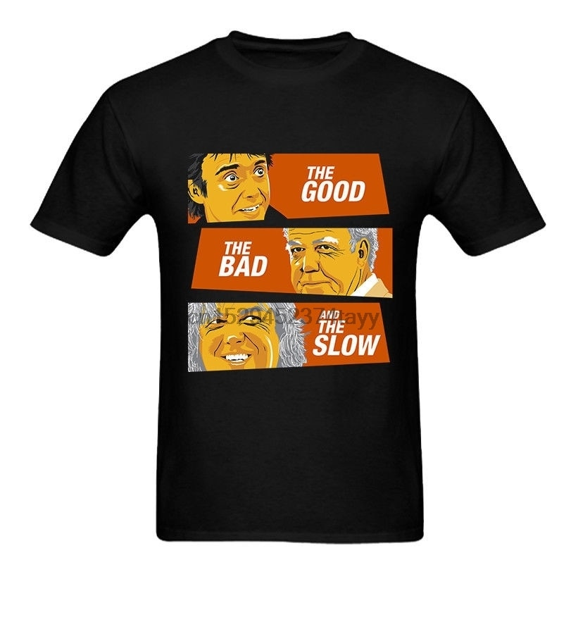 Grand Tour Top Gear The Good The Bad And The Slow Funny Mens T-shirt недорого