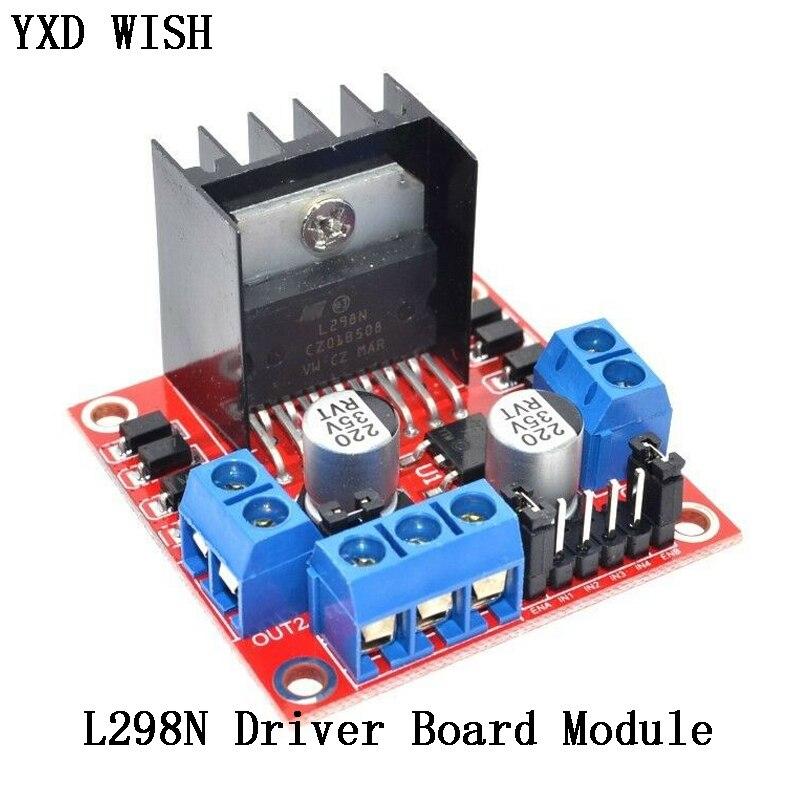 L298N Motor Driver Board Module L298 Stepper Motor Smart Car Robot Breadboard Peltier L298N High Pow
