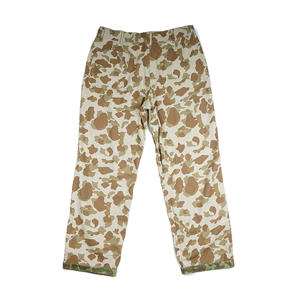 USMC Pacific Camo Military Pants Tactical HBT Soldier Trousers Outdoor Pants Straight Retro WW2 US Army Cotton
