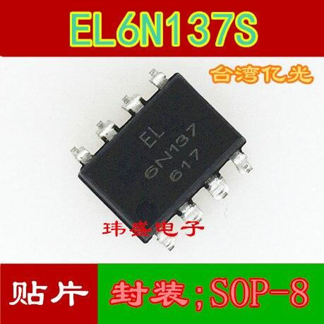 10 Uds EL6N137S 6N137 /SOP-8 EL6N137S-TA