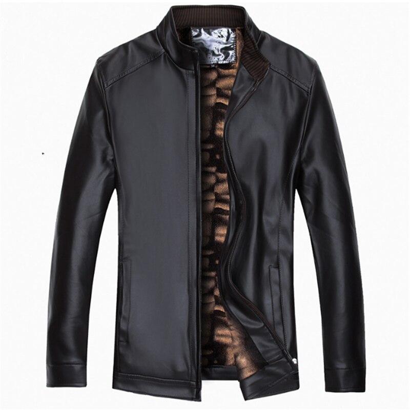 2020 otoño invierno nuevo negro de negocios Casual de moda Pu chaqueta...