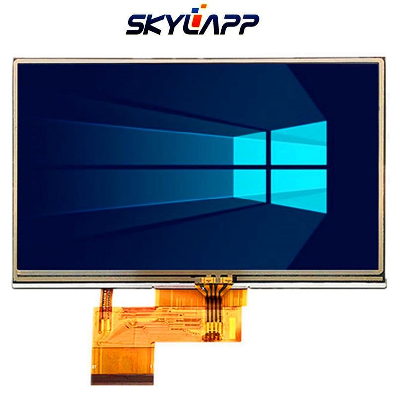 Original 5inch TFT LCD de pantalla de GARMIN Nuvi 1470 de 1470T LCD panel de pantalla con Digitalizador de pantalla táctil AT050TN34 V.1