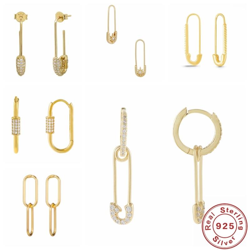 aide-натуральная-925-стерлингового-серебра-в-богемном-стиле-Простые-geometirc-pin-обруч-серьги-huggie-серьги-для-женщин-Шарм-ювелирные-изделия-модные-с