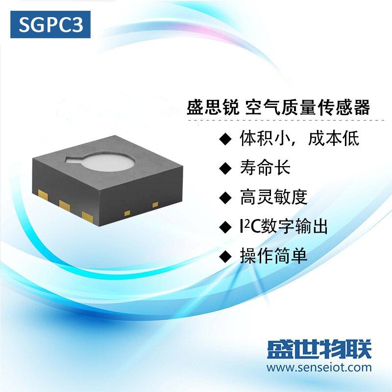Módulo Sensor de calidad del aire de Gas Sgp30/Sgpc3 TVOC/Eco2 Chip actualizado