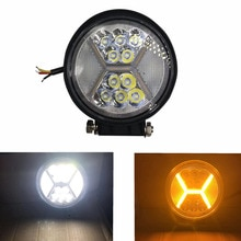 4 inch 132W LED Work Light 12-80V LED Light Assembly Spot Light for Car Offroad Truck Tractor Boat Trailer