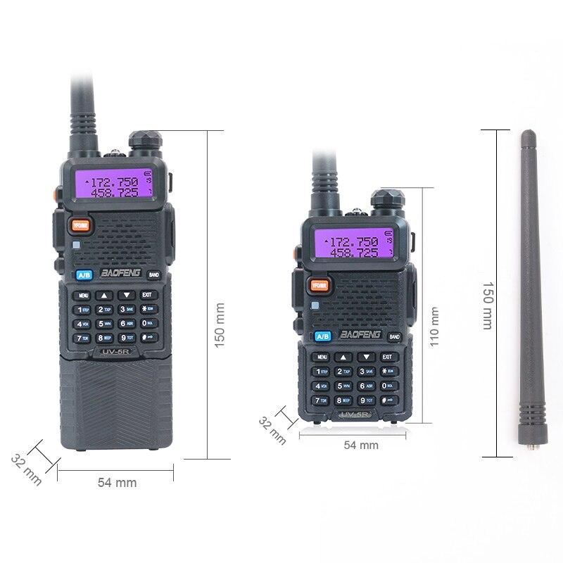 4PCS Baofeng UV-5R 5W and 8W 1800mAh and 3800mAh Walkie Talkie Radio VHF UHF Dual Band UV5R Two Way Radio for Hunting Ham Radios enlarge