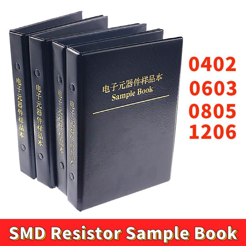 0402 0603 0805 1206 1% SMD SMT Chip Resistor Assortment Kit 170 Values Sample Book