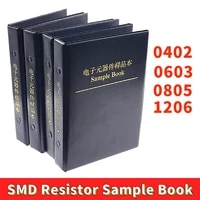 0402 0603 0805 1206 1 smd smt chip resistor assortment kit 170 values sample book
