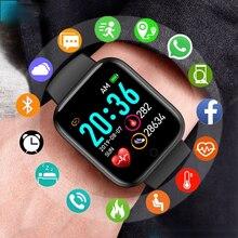 Mens' Silicone Digital Watch Men Sport Healthy Monitoring BPM  Women Watches Electronic LED Male Wri