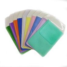Leak-Proof Pen Pouch Colorful PVC Pocket Protector Pencil Cases Doctors Nurses Supplies Pen Organize