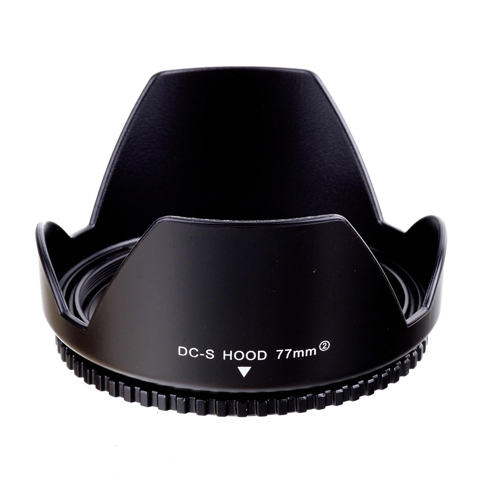 77mm flor Reversible pétalo Cámara lente capucha para Nikon Canon Sony 77mm lente Cámara