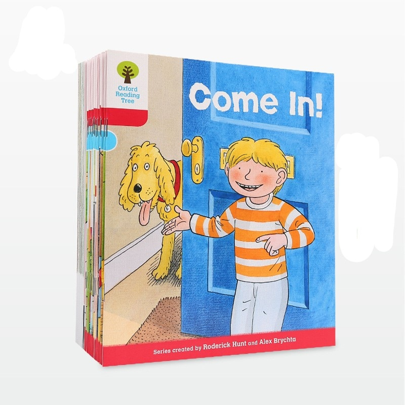 6-10 year 24 book/set Oxford reading tree level 4 Extended reading English picture books English enlightening children's book