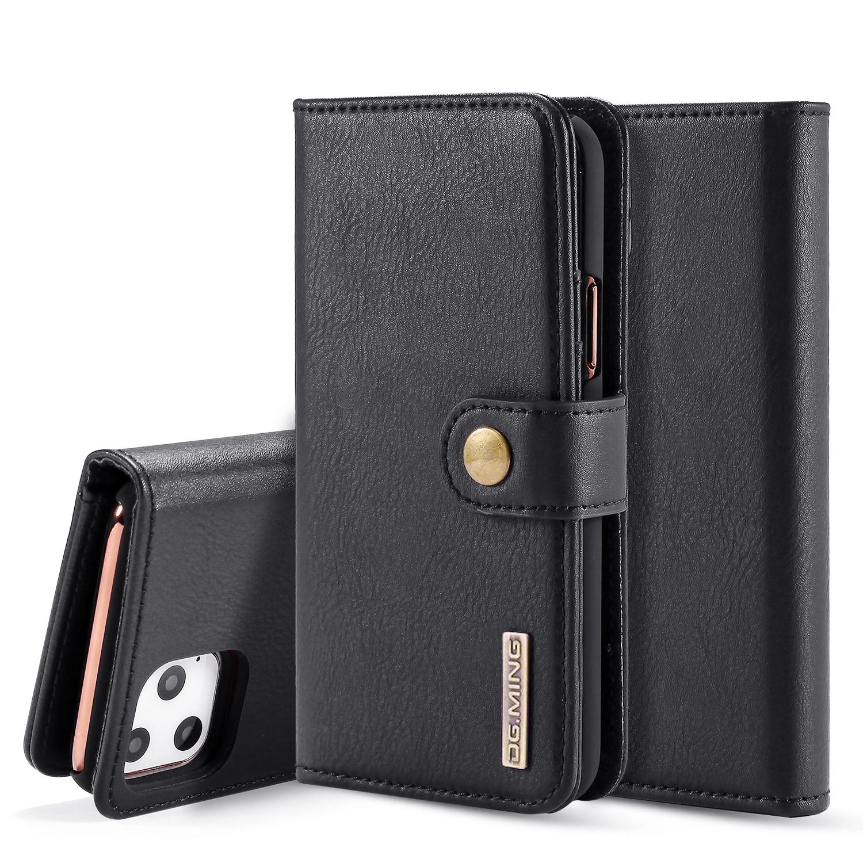 DG.Ming الجلود بطاقة المغناطيسي واقية الحالات الهاتف آيفون 11 برو ماكس 8 Plus 7 Plus 6S زائد 6 Plus غطاء الهاتف