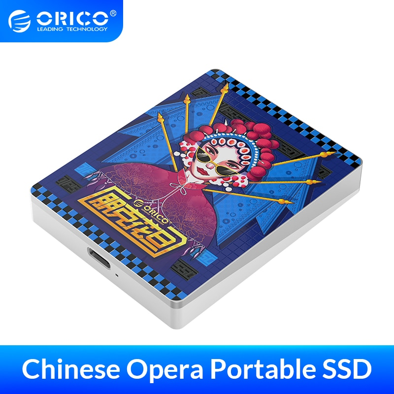 ORICO External SSD hard drive 1TB SSD 120GB 240GB 480GB Doodle Series SSD Portable Solid State Drive with Type C USB 3.1 Gen2