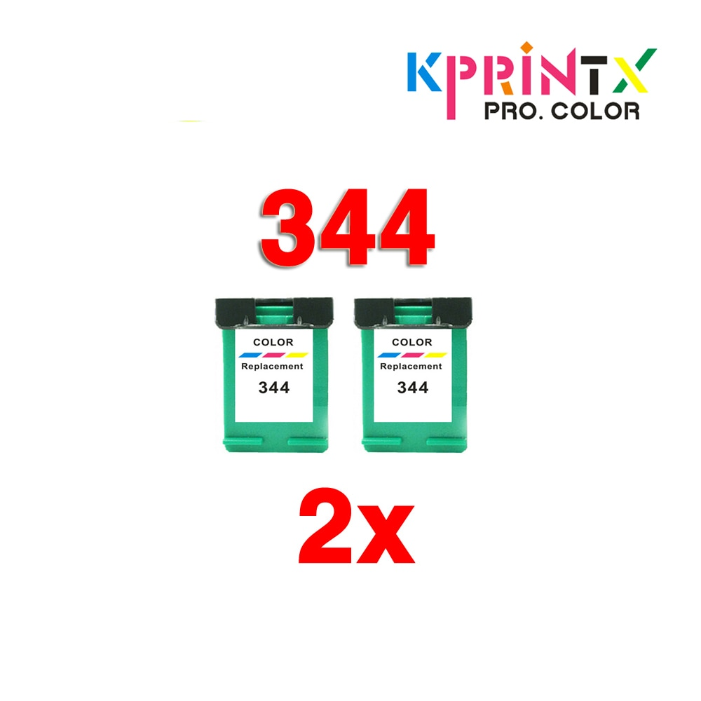 344 cartucho de tinta compatível para hp344 344XL Deskjet Photosmart 475 2575 2610 2710 8050 8150 8750 5740 5745