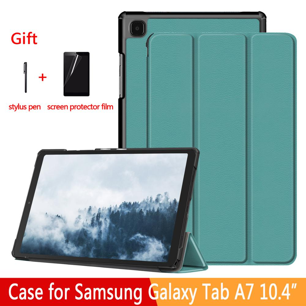Case for Samsung Galaxy Tab A7 10.4 SM-T500/T505 Tablet Adjustable Folding Stand Cover for Samsung Galaxy Tab A7 10.4 2020 Case