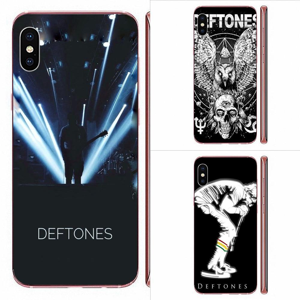 Póster de moda de banda de música Deftones para Xiaomi CC9E Mi3 Mi4 Mi4i Mi5 Mi 5S 6 6X 8 9 SE Play Plus Pro Lite A1 Mix 2 Note 3