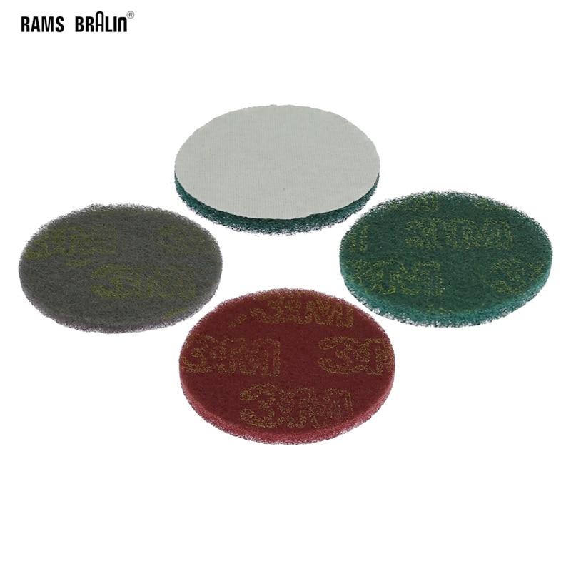 1 piece Non-woven Fibre Coarse to Fine Sanding Disc 100mm / 125mm / 150mm