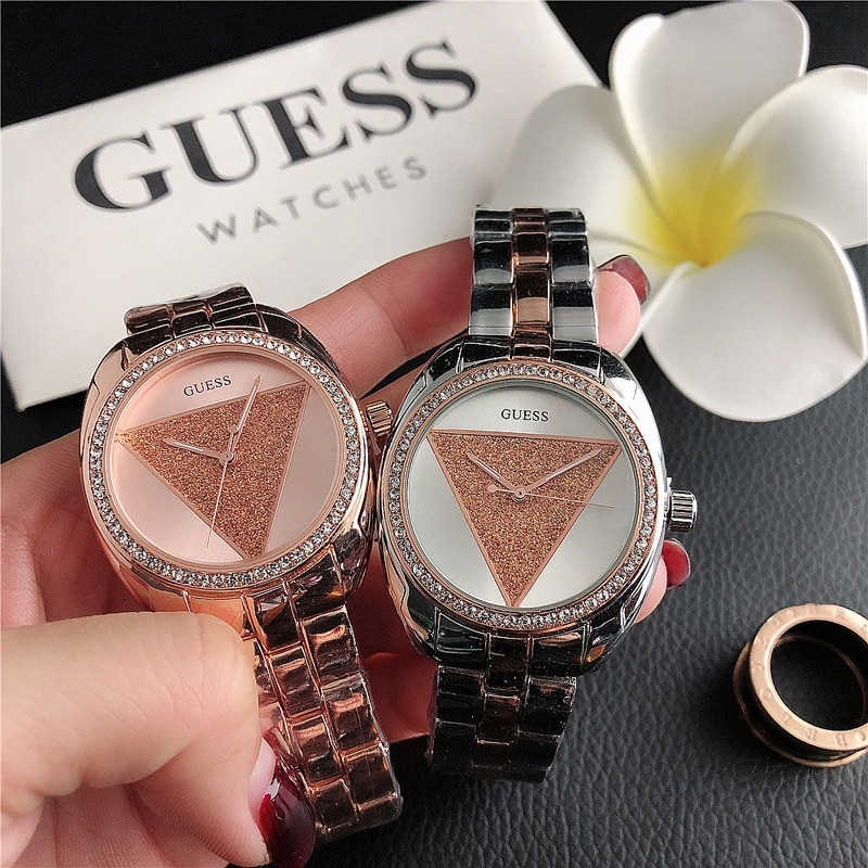 Boutique Quartz Watch Women Hot Selling Men's and Women's Explosive Watch Inverted Triangle Couple Watches Casual Accessories enlarge