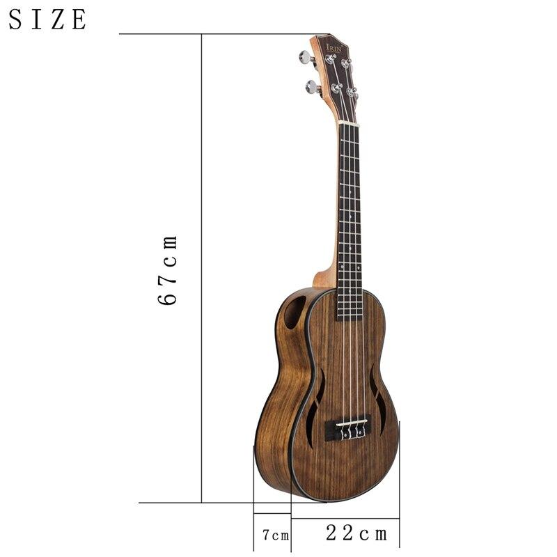 Kits de ukelele Tenor 26 pulgadas madera 18 traste funda de Guitarra acústica correa de cuello Hawaii 4 cuerdas Guitarra