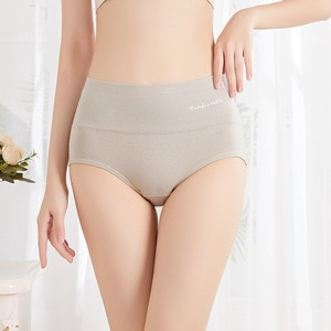underwear women Mulberry silk antibacterial non-marking cotton large size panties women low waist breathable ladies brief