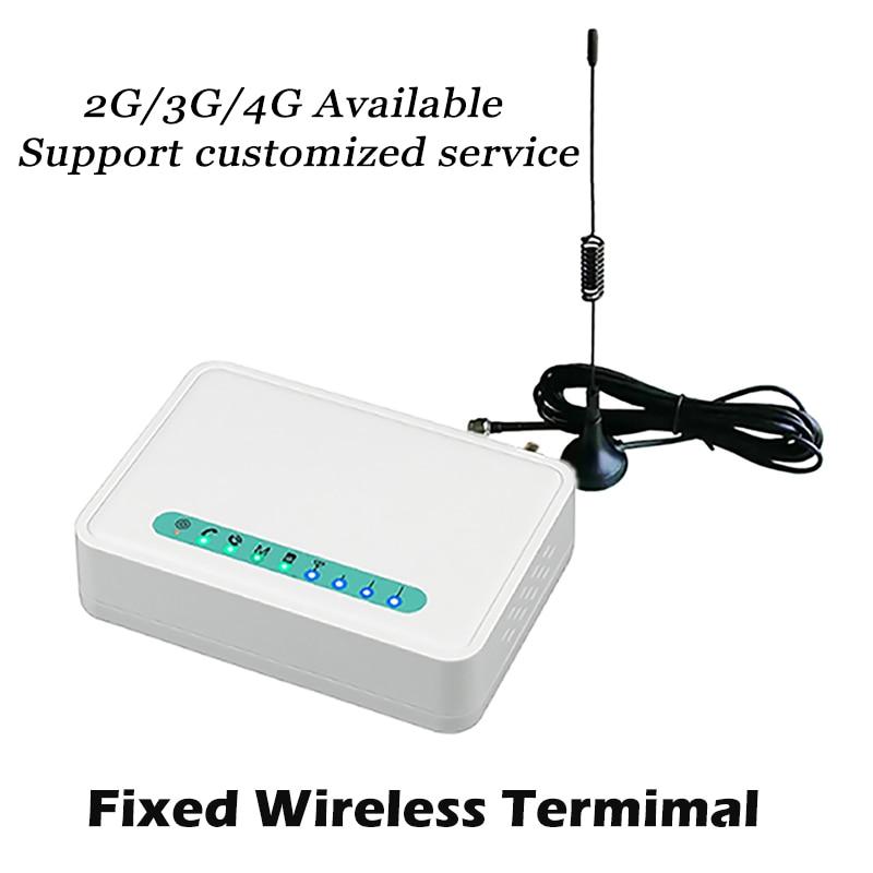 2G SIM GSM modem Fixed Wireless terminal GSM to Lansline phone Suit Alarm system Audio cassette Telemarketing  Desktop phone