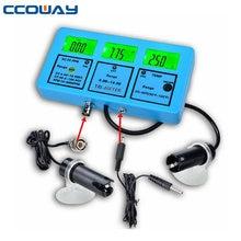 Chine fournisseur 4 en 1 PH/EC/CF/TDS testeur de dureté portable, électrode de ph-mètre deau, ph numérique et contrôle ec
