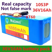 36V 16ah 10s3p super Capacidad 50A BMS alta potencia 18650 batería de litio eBike bicicleta eléctrica motocicleta