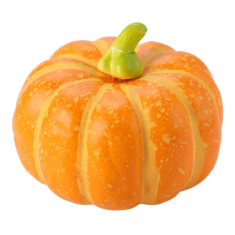 Simulação engraçado falso vegetal modelo decorações de halloween prático clássico textura portátil grande abóbora para rc carro