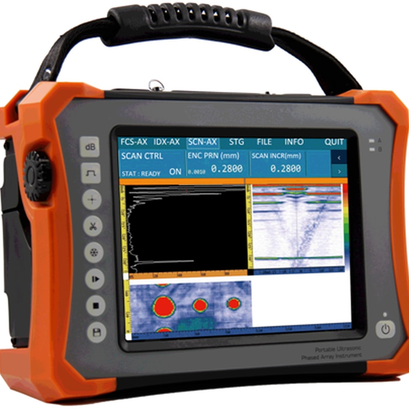 HPA-500 64-CH Portable Touch screen Phased Array PA Inspection Flaw Detector