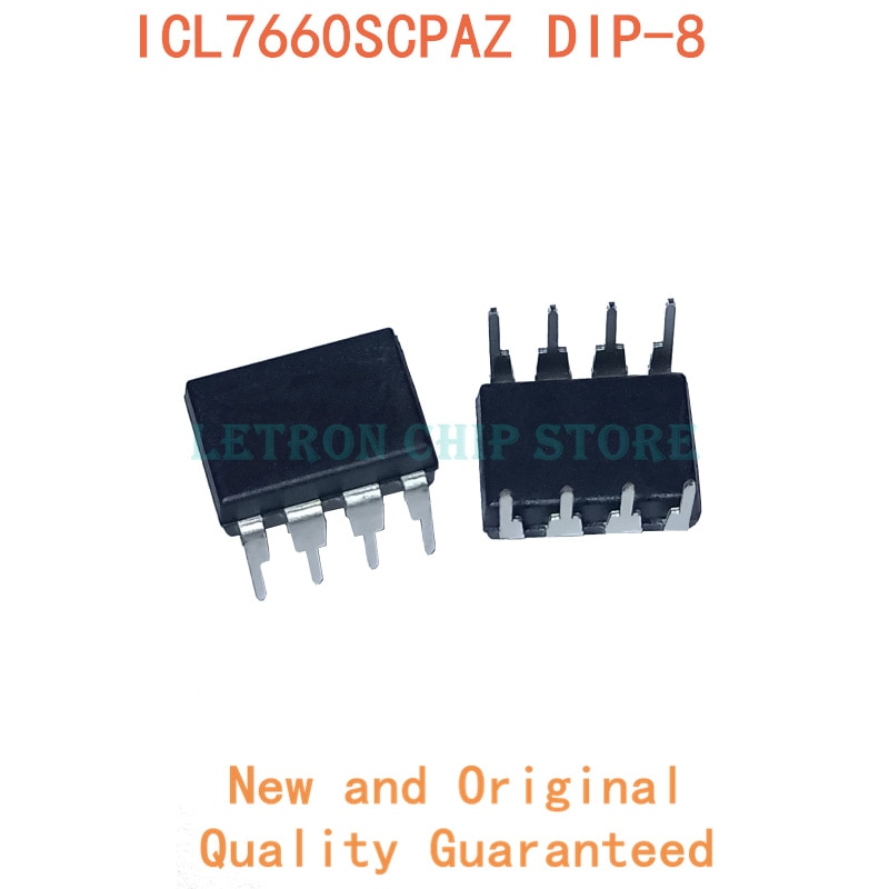 10PCS ICL7660SCPAZ DIP8 ICL7660S DIP-8 DIP 7660S 7660SCPAZ neue und original IC Chipset