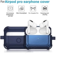 case for airpods pro cover luxury protective earphone cover case for apple airpods 3 pro air pods pro shockproof sleve with hook