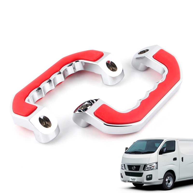 Nuevo tipo de manijas de agarre de piezas interiores con sensación de silicona aptas para nissan nv350 que ayudan a la furgoneta, jaulas de suministros de coche QT3304