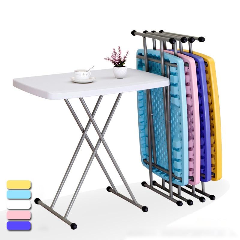 في الهواء الطلق طاولة قابلة للطي المحمولة رفع التخييم نزهة الجدول مقاوم للماء دائم للطي مكتب طاولة طعام أثاث الحدائق