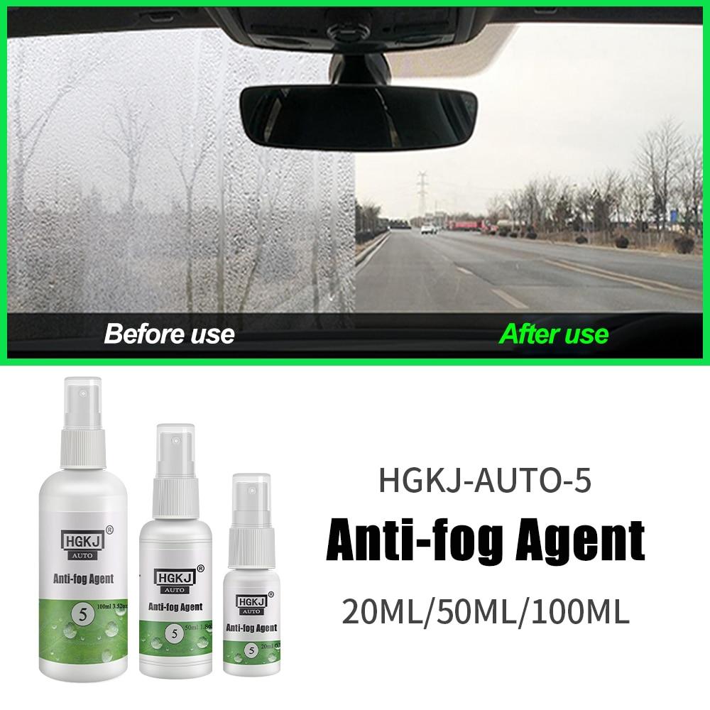 NEW Auto Anti-fog Agent Car Glass Nano Hydrophobic Coating Spray Automotive Antifogging Glasses Helmet Defogging HGKJ-5
